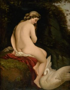 A Renaissance painting of a nude woman illustrates the idealized body of that time, suggesting that the ideal is always changing and making it difficult for anyone to actually achieve.